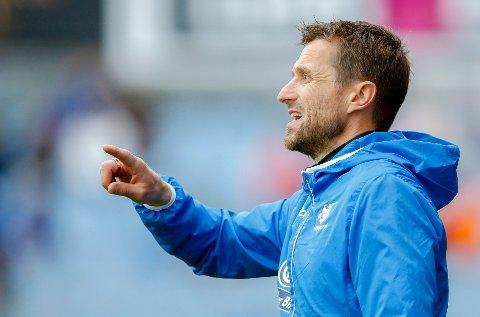 KLAR FOR E-CUP: FKH-trener Eirik Horneland.