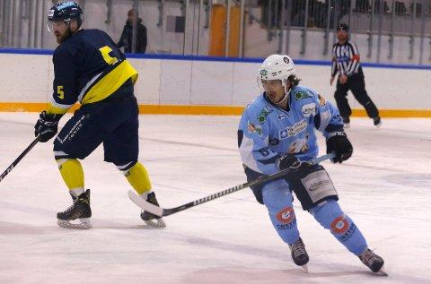 FULL POTT: Spillende trener Markus Kankaaranta ledet Haugesund Seagulls til en drømmestart på sesongen.