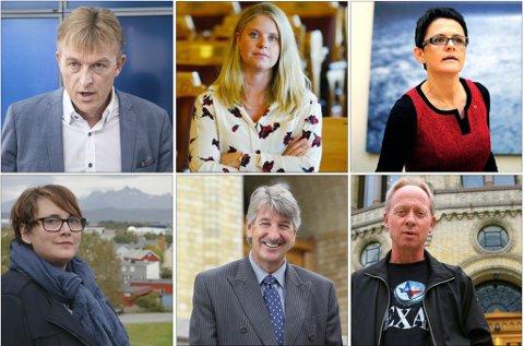 Trekker seg: Seks av Nordlands ni stortingsrepresentanter tar ikke gjenvalg.