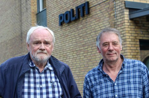 Jim Nerdal (t.v.) og Bjørn Brodtkorb