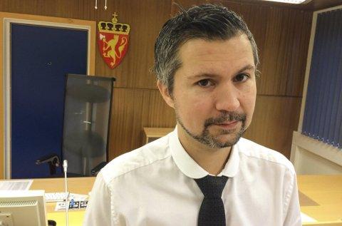 BOBESTYRER: Benny Solheim jobber med å få oversikt over krav til Kvalsund Bygg AS.