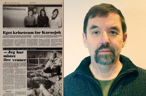 FAGPERSON: På 80-tallet mistet flere familier og venner sine kjære til selvmord. Eilif Norvang jobbet som fagperson mens det pågikk.