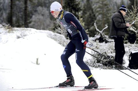Satser: Kristian Glasius Hegg er en av få Botne-løpere som deltar i norgescupen i langrenn. Foto: Svein Halvor Moe