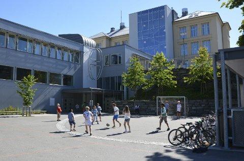 Kragerø skole. Arkivfoto: Elin Frisch Selås
