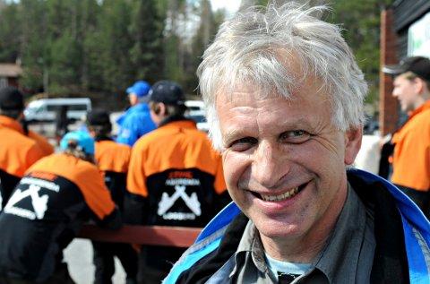 Halvor G. Garås kan smile etter nyheten han fikk tirsdag.