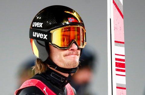 SJETTEMANN: Daniel-André Tande var sjettemann i kvalifiseringen til rennet i stor bakke.