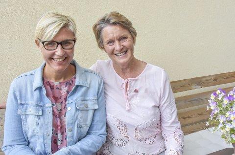 Kommer gjerne: F.v. demenskoordinator i Lier kommune, Anja Hoff, og Else Frisell fra Demensforeningen ønsker å holde mange flere kurs.