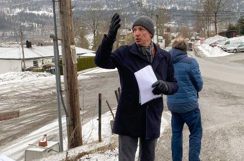 Engasjert: Bjørn Garder håper på politisk velvilje når detaljreguleringen av prosjektet hans rundt ysteriet og Bolstadgården i Sylling skal opp til behandling - for tredje gang.