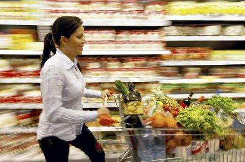 Løp og Kjøp: Vi bruker mye mindre andel av lønna til mat i dag i forhold til hva vi gjorde for 30 år siden. Foto: colorbox.com