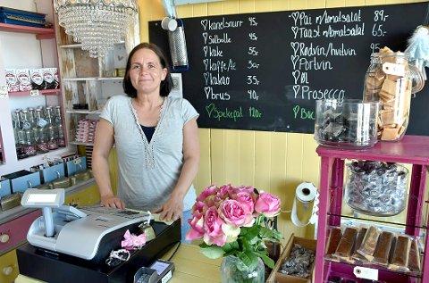 HELTID: Fra høsten av blir Janett Haug Larsen å bruke all sin tid på å utvikle Sjokoladerommet AS
