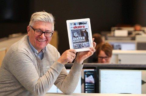 GLEDER SEG: Pål Enghaug presenterer «Ekstra», et e-avis tillegg til Moss Avis. Premieren skjer neste torsdag.