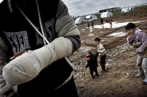 Sosialt: – Vi i Høyre mener at det er viktig at innvandrere blir godt integrert i det norske samfunnet, sriver Høyres Jørn Roald Wille. Bildet er fra Syria.