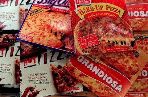 PIZZA: De aller fleste har et forhold til frossenpizza. Arkivfoto.