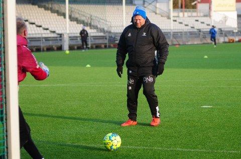 NY ROLLE: Tidligere toppkeeper Erik Holtan får ansvaret for Sarpsborg 08s målvakter denne sesongen.