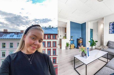 Sofie Brevik (23) er stolt eier av sin første bolig på Møllenberg.