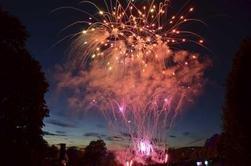 """TID FOR FEST: Ved midnatt nyttårsaften vil et ifølge Bymiljøetaten """"fantastisk fyrverkeri"""" lyse opp nattehimmelen over Oslo. Bildet er fra Ekebergparken et tidligere år."""