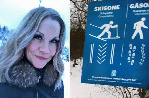 GLAD: Hanne-Karine Holstad (36) fra Tromsø er glad for at politiet nå er involvert i saken.