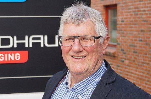 BØTELAGT: Hans Kristian Seterlund, sjef i byggeselskapet Consto, får bot for å ha oppført en ulovlig garasje i Nordpolvegen i Tromsø.