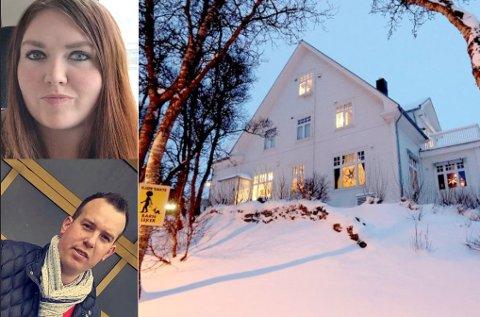 KJØPTE PÅ «BILLIGSALG»: Varaordfører Marlene Bråthen (Sp) og mannen hennes – Roy-Arne Myrvoll – kjøpte det som var Tromsøs dyreste enebolig i 2018. En hybel brukes til Airbnb-utleie, ifølge DN. Totalt har selskapet deres – Bramy Eiendom – ti enheter på Airbnb.