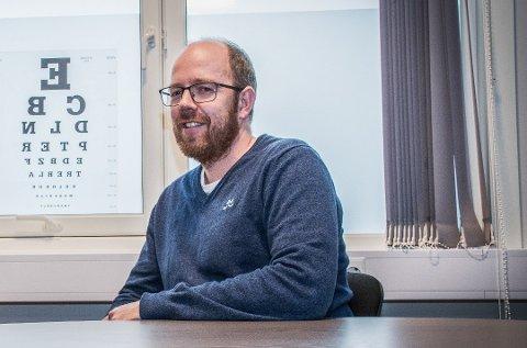 EIENDOM: Til daglig er Haldor T. Holien fastlege ved Østre legesenter i Namsos. Nå har han etablert selskapet Namsen Panorama AS, som skal drive med eiendomsutvikling.