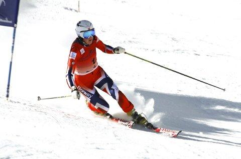 To pallplasser i sveits: Mathilde Olsen Ilebrekke ble nummer tre, både på sprint og i klassisk.