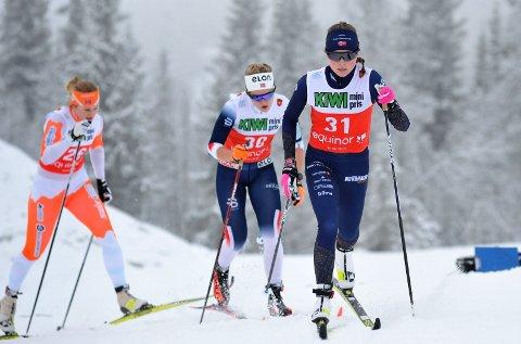 AVLYST: Susann Sagstuen og de andre lokale løperne fikk heller ikke denne helgen testet konkurranseformen.