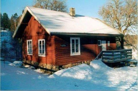 ØVRESAGA: DNT-hytta i Rausjø er den mest besøkte av de fire hyttene i Østmarka.