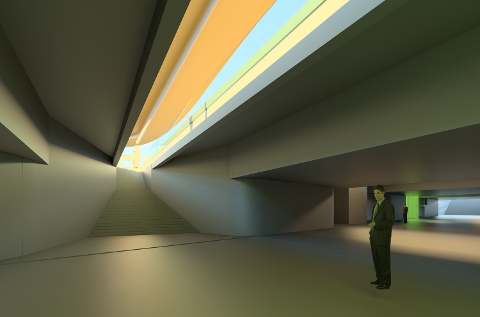 ILLUSTRASJON: Undergangen slik den er planlagt å se ut.