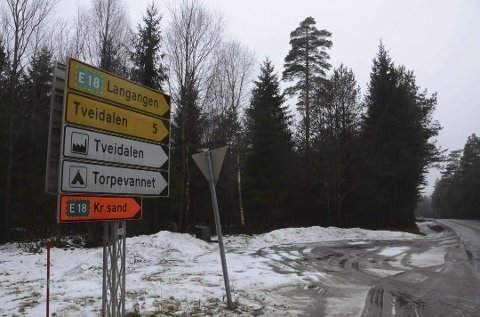 Avgjort: Så er det klart. Det står riktig navn på skiltet ved Brunlanesveien. arkivFoto: Bjørn-Tore Sandbrekekne