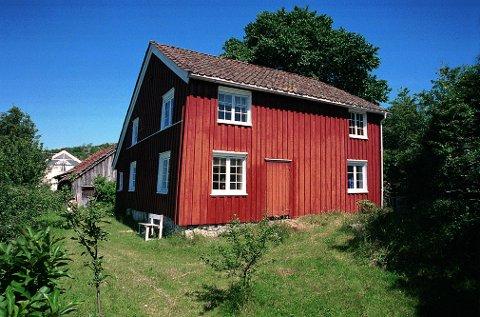 ANJUSHUSET:   i Helgeroa skriver seg kanskje fra helt tilbake til 1670-tallet.