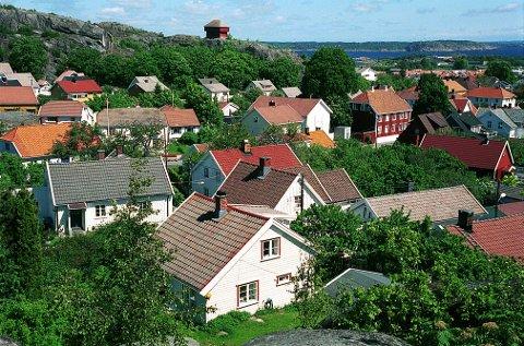 """FJERDINGEN. Nytt bilde fra den eldste bebyggelsen i Fjerdingen. Kroken het det her, mer uoffisielt """"Knettareiret"""" etter et gammelt ord for luseegg!"""