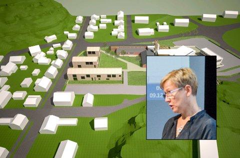 KLAR TALE: Frps Gina M. Johnsen (innfelt) ga kritikerne svar på tiltale i kommunestyret onsdag.