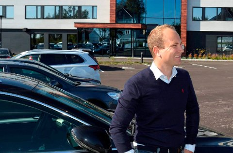 GODT ÅR: Hans Christian Gaarder er daglig leder i eiendom- og finansselskapene
