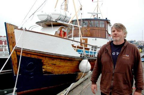 DØDE BRÅTT: Marvid Hoel døde brått i oktober. Gjestehavnsjef Inger Kristine Grønvold sier han etterlater seg et stort tomrom.