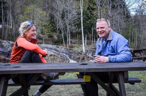 SAMMEN: Karina Lie og storebror Arnt Martin skal i året som kommer gjennomføre et litt annerledes prosjekt.