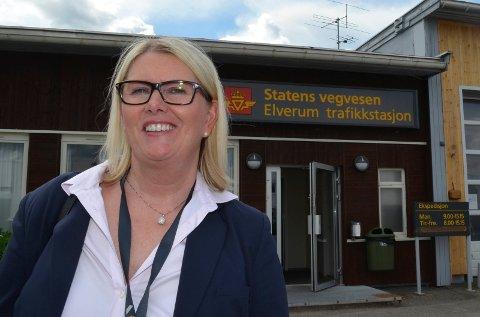 VIL BLI ORDFØRER: Avdelingsdirektør i Statens vegvesen Aud M. Riseng stiller som ordførerkandidat for Ap i Hamar. (Foto: Bjørn-Frode Løvlund)