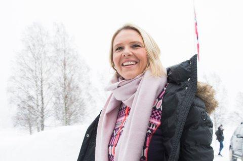 HURDAL  20180312. Justis-, beredskaps- og innvandringsminister Sylvi Listhaug (FrP) ankommer Hurdalsjøen hotell idet regjeringa en starter budsjettarbeidet for 2019 med budsjettkonferanse på Hurdalsjøen hotell  Foto: Berit Roald / NTB scanpix