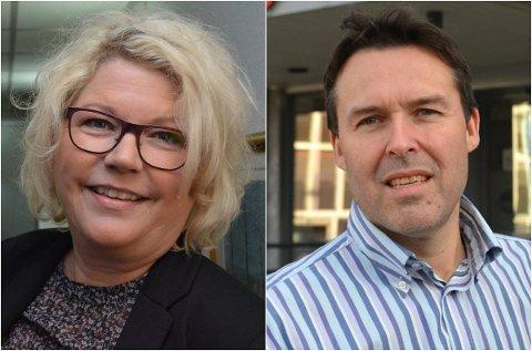 SØKER: Kersti Grindalen (50) og Erik Sletmoen (50), begge fra Elverum, har søkt på stillingen som NAV-leder for Elverum og Våler.