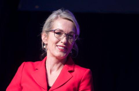 GLAD FOR ØKNING: Administrerende direktør Anita Krohn Traaseth i Innovasjon Norge er glad for at andelen kvinnelige gründere øker.