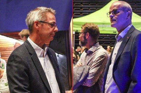 Høyre eller AP?: Tor Birkeland forteller at sentrumsblokka vil avgjøre hvem de skal gå i forhandlinger med etter at de har snakket med Høyre på torsdag.