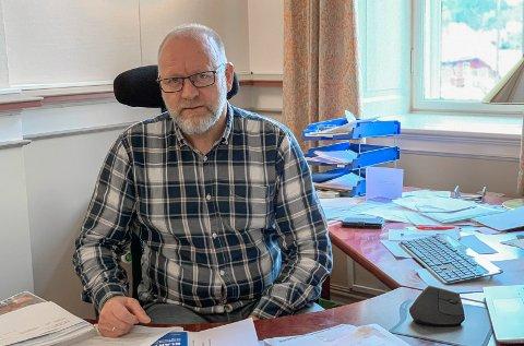 Naturlig: Kommunalsjef Tollef Stensrud mener det er naturlig at departementet har avlyst eksamen denne våren.
