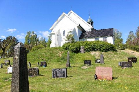 NABO: Eidanger kirke er nabo til planområdet.