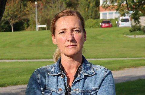 FRUSTRERT TIL TIDER: Wenche Jansen, Urædd håndball.
