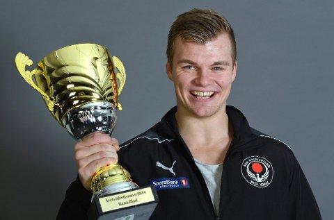 Martin Sæterhaug i Rana karateklubb ble årets idrettsnavn i fjor. Foto: Øyvind Bratt