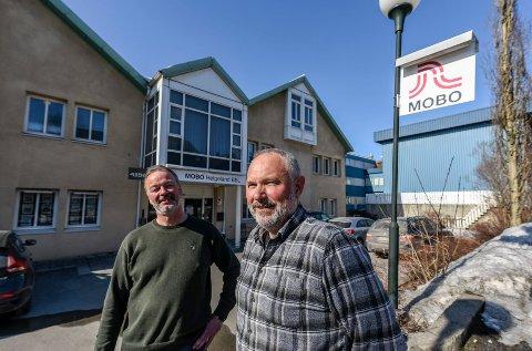 Morten Sæterhaug og Jørn Sandstedt i MOBO Helgeland BBL vil ha slutt på at folk utnytter forkjøpsordningen i boligbyggelaget.