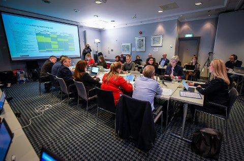 Helse-Nord styremøte i Bodø med avgjørelse av Helgelandssykehuset 2025.