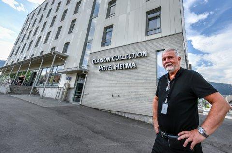 - Vi er kjempeoverrasket over at vi har det så bra som vi har det, sier hotelldirektør Dag Busch ved Clarion Collection Hotel Helma.