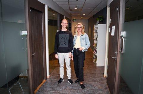 Thomas Lauvås og Marianne Steinmo har begge fått forskningstalentmidler på inntil én million kroner hver.