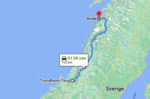 Uheldig feil: En bileier fikk en regning som viste at bilen hans hadde stått parkert i Bodø i store deler av desember. Problemet var bare at verken eieren eller bilen hadde vært i Bodø i samme periode.