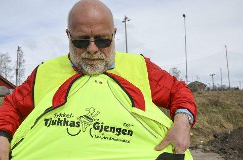 IVRIG SOM FÅ: Erling Elsebutangen er også en av pådriverne med å få i gang igjen sykkelgruppe i Brumunddal.